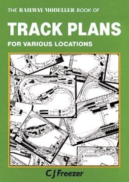 PB66 The Railway Modeller Book of Track Plans for various locations