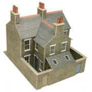 PO262 Terraced Houses Stone OO/HO
