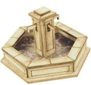 PO522 00/H0 Scale Stone Fountain