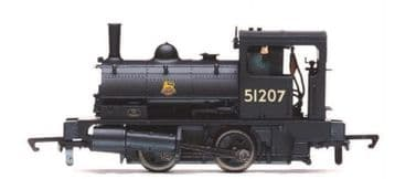 R3728 BR, Class 21 'Pug', 0-4-0ST, 51207 ##Out Of Stock##