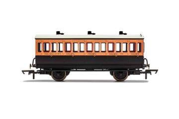 R40062 LSWR, 4 Wheel Coach, 3rd Class, 302