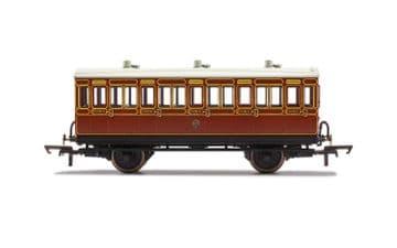 R40070 - LB&SCR, 4 Wheel Coach, 3rd Class, 882