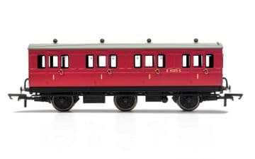 R40077 - BR, 6 Wheel Coach, 1st Class, E41373