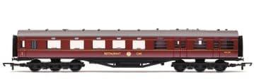 R4131C Stanier 68' Dining/Restaurant Car 'M232M', BR Maroon