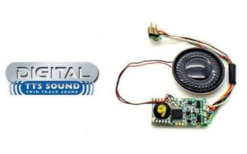 R8106 TTS sound decoder steam A1/A3  ##Out Of Stock##