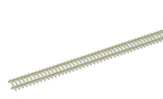 SL302F/15 Concrete sleeper type, nickel silver rail