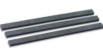 SL801 Moulded Wood Grain Sleepering for turnouts                                177mm (7in) x 15