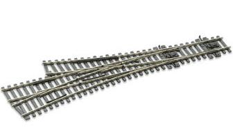 SLE199 Electrofrog Asymmetric 3 Way Turnout, medium radius
