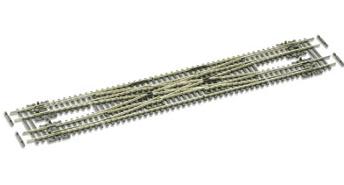 SLE383F Electrofrog Scissors Crossover Medium radius ##not in stock##