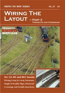 SYH21 Wiring the Layout - Part 3: Turnouts & Crossings  ##Out Of Stock##