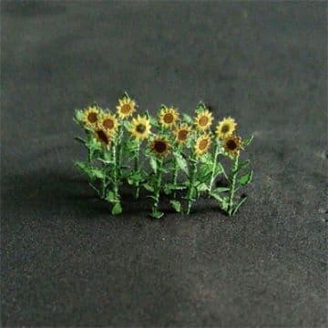 TS00904 N Gauge Sunflowers (14)