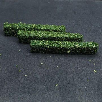 TS00988 N Gauge Dark Green Hedges (8 per pack)