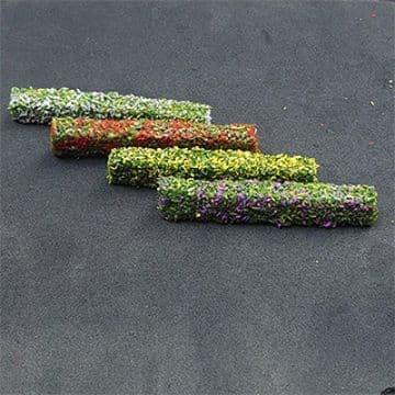 TS00989 N Gauge Flowering Hedges (8 per pack)