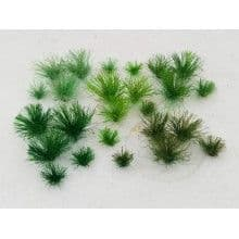 TS01020 5mm Assorted Green Tufts (30 per pack) ##Out Of Stock##