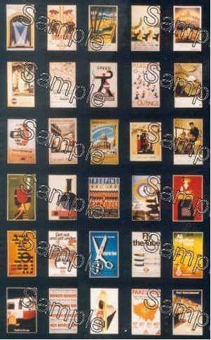 TSOO138  London Transport Travel Posters Post-1930