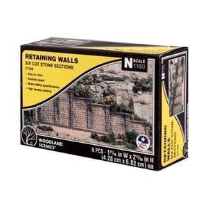 WC1159  N Cut Stone Retaining Wall Concrete (x6)