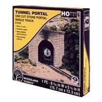 WC1253HO Cut Stone Single Tunnel Portal