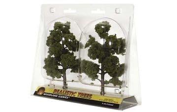 WTR1112 3-7in.Med Green Decid Trees