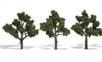 WTR1510 4-5in Medium Green Trees (3)
