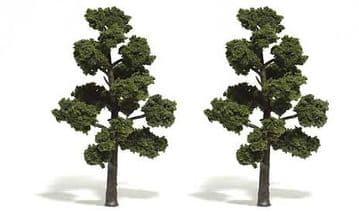WTR1513 5-6in Medium Green Trees (2)