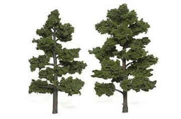WTR1516 6-7in Medium Green Trees (2)