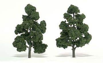 WTR1518 7-8in Medium Green Trees (2)