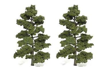 WTR1519 8-9in Medium Green Trees (2)