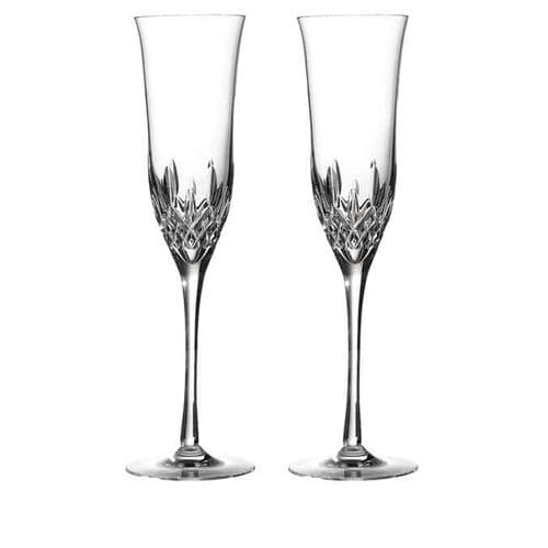 Waterford Crystal - Lismore Essence Champagne Flute Pair