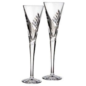 Waterford Crystal Occasions Giftware - Beginnings Champagne Flute Pair