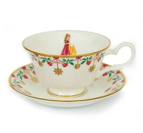 Winter Belle Tea Set from the Disney Princess Teaware Collection