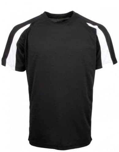 Cool T Shirt With Embroidered Logo