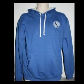 Flitwick Eagles Two Tone Hoodie - Blue Adult