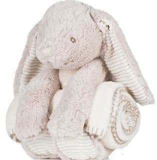 Mumbles bunny with blanket