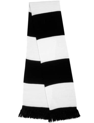 Supporters Scarf With Embroidered Logo