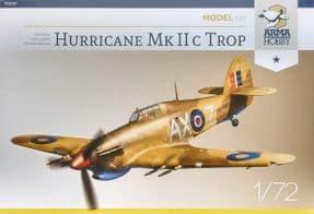 AH70037 1/72 Hawker Hurricane Mk.IIc Trop Junior Set