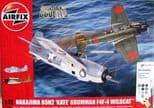 AIR50169 1/72 Nakajima B5N2 Kate & Grumman Wildcat F4F-4 Dogfight Double Gift Set