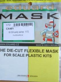 EDCX481 1/72 Avia B-534 early series mask (Eduard)