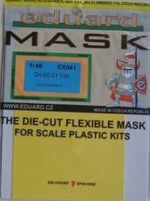 EDEX041 1/48 Sikorsky SH-3H/S-61 Sea King mask (Hasegawa)