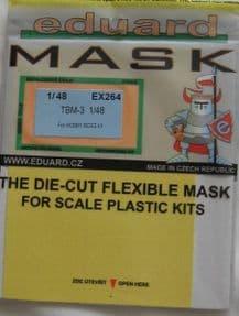EDEX264 1/48 Grumman TBM-3 Avenger mask (Hobbyboss)