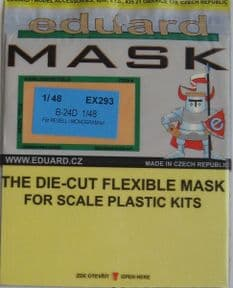 EDEX293 1/48 Consolidated B-24D Liberator mask mask (Monogram and Revell)