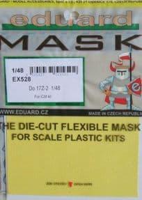EDEX528 1/48 Dornier Do17z-2 mask mask (ICM)