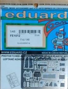 EDFE1012 1/48 McDonnell F-4J Phantom zoom etch (Academy)