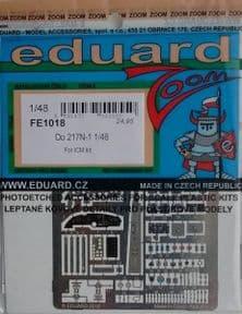 EDFE1018 1/48 Dornier Do-217N-1 zoom etch (ICM)