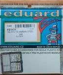 EDFE1111 1/48 Dornier Do-217J-1/2 seatbelts STEEL (ICM)