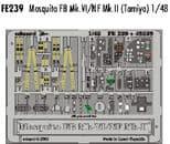 EDFE239 1/48 Mosquito FB Mk.VI/NF Mk.II zoom etch (Tamiya)