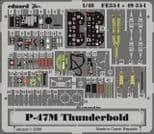 EDFE354 1/48 Republic P-47M Thunderbolt zoom etch (Tamiya)