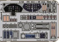 EDFE455 1/48 Mikoyan  MiG-17F zoom etch (Hobbyboss)