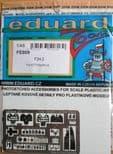 EDFE809 1/48 McDonnell F2H-2 Banshee zoom etch (Kitty Hawk)