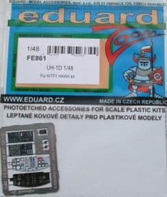 EDFE861 1/48 Bell UH-1D Huey zoom etch (Kittyhawk)