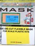 EDJX015 1/32 F4U-1A Corsair mask (Trumpeter)